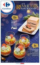 Catalogue Carrefour en cours, Un réveillon gourmand, Page 1