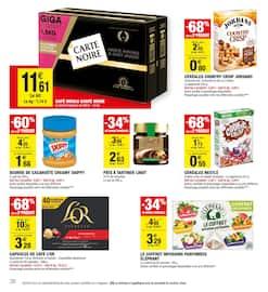 Catalogue Carrefour Market en cours, Les promos se mettent à table, Page 38