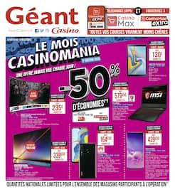 Catalogue Géant Casino en cours, Le mois Casinomania, Page 24