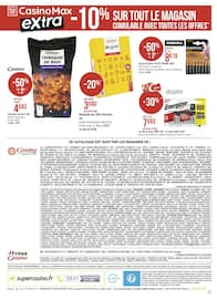 Catalogue Casino Supermarchés en cours, Le mois Casinomania, Page 30