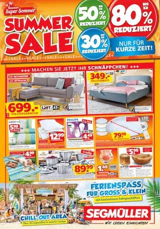Segmüller, Segmüller: Summer Sale