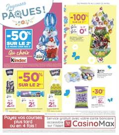Catalogue Casino Supermarchés en cours, Joyeuses Pâques !, Page 12
