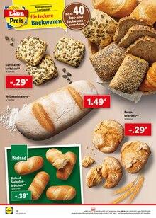 Brot im Lidl Prospekt ALLES MARKE, NIX TEUER auf S. 17