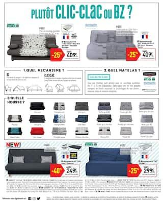 Catalogue Conforama en cours, Les prix maison, Page 12