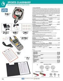 Catalogue Casal Sport en cours, Sports classiques, Page 6