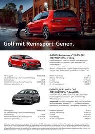 Aktueller Volkswagen Prospekt, Plätz Aktuell - Wir räumen unser Lager, Seite 3