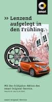 Aktueller smart Prospekt, Lenzend aufgelegt in den Frühling., Seite 1