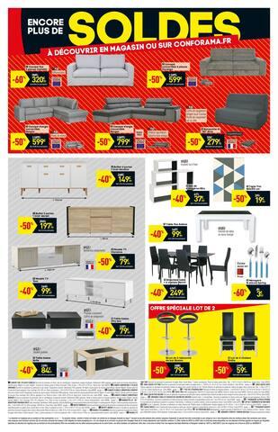Catalogue Conforama en cours, Soldes, jusqu'à -70%, Page 2