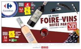 Catalogue Carrefour en cours, La seule foire aux vins notée par la revue du vin de France, Page 1