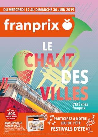 Catalogue Franprix en cours, Le chant des villes, Page 1