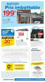 Catalogue Castorama en cours, Ensemble ! Fêtons nos retrouvailles autour d'offres à ne pas manquer !, Page 2
