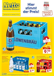 Netto Getränke-Markt, HIER STIMMT DER PREIS für Alteglofsheim