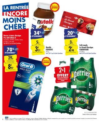 Catalogue Carrefour en cours, La rentrée encore moins chère, Page 2