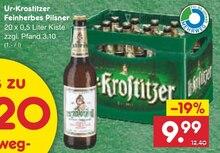 Bier von Ur-Krostitzer im aktuellen Netto Marken-Discount Prospekt für 9.99€
