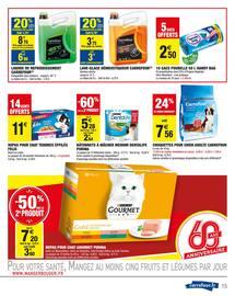Catalogue Carrefour Market en cours, Dernières semaines encore moins chères !, Page 15