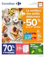 Catalogue Carrefour en cours, Le meilleur des petits déjeuners, Page 1
