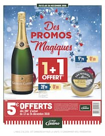 Catalogue Petit Casino en cours, Des Promos Magiques, Page 1