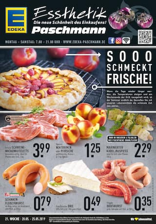 Aktueller EDEKA Prospekt, Sooo schmeckt Frische!, Seite 1