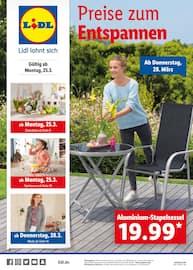 Lidl, Preise zum Entspannen für Hamburg