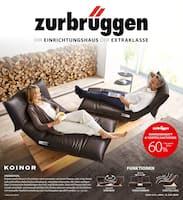 Aktueller Zurbrüggen Prospekt, Zurbrüggen - Ihr Einrichtungshaus der Extraklasse, Seite 1