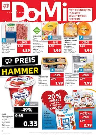 Aktueller Kaufland Prospekt, Essen ist Hingabe, Seite 2