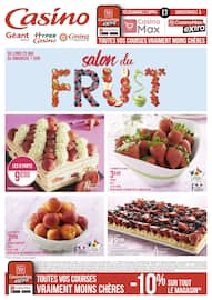 Catalogue Géant Casino en cours, Salon du fruit, Page 1