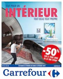 Catalogue Carrefour en cours, Tout pour un intérieur tout beau tout propre, Page 1
