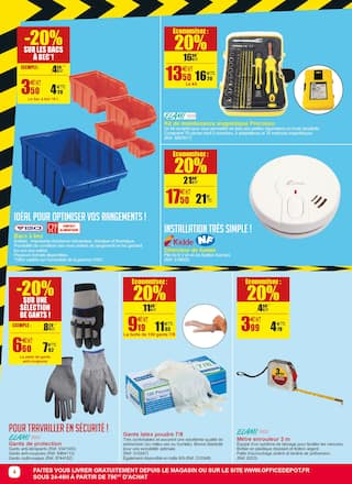 Catalogue Office DEPOT en cours, -20% sur tous les destructeurs**! Faites le plein de bonnes affaires !, Page 4