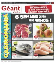 Catalogue Géant Casino en cours, 6 semaines de fête et de promos !, Page 1