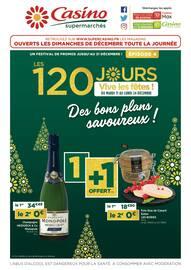 Catalogue Casino Supermarchés en cours, Des bons plans savoureux !, Page 1
