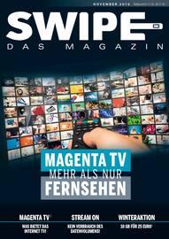Aktueller Telekom Partner Saar Prospekt, SWIPE - Das Magazin, Seite 1