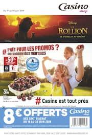 Catalogue Casino Shop en cours, # Prêt pour les promos du royaume des marques ?, Page 1