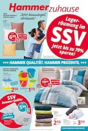 Aktueller Hammer Prospekt, Lagerräumung im SSV - Jetzt bis zu 70% sparen! , Seite 1