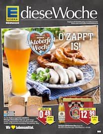 Aktueller EDEKA Prospekt, Oktoberfest Woche: O'zapft is!, Seite 1