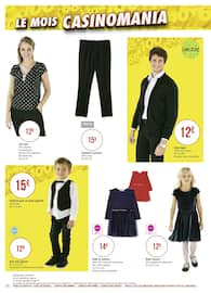 Catalogue Géant Casino en cours, Le mois Casinomania, Page 74