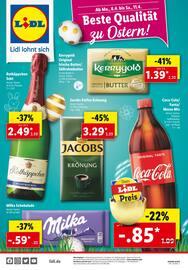 Aktueller Lidl Prospekt, Beste Qualität zu Ostern!, Seite 1