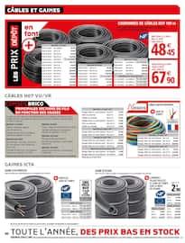 Catalogue Brico Dépôt en cours, Action sur les chantiers, Page 40