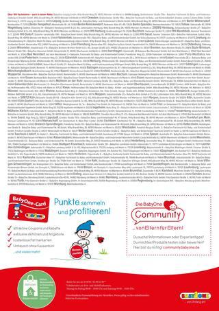 Aktueller BabyOne Prospekt, Weltkindertag - Das wird gefeiert! , Seite 2