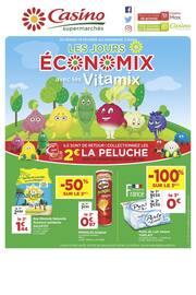 Catalogue Casino Supermarchés en cours, Les jours économix avec les Vitamix, Page 1