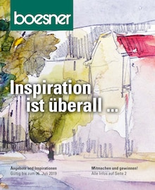 boesner - Inspiration ist überall...