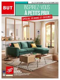 Catalogue But en cours, Inspirez-vous à petits prix : spécial séjours et cuisine, Page 1