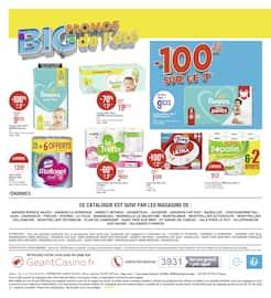 Catalogue Géant Casino en cours, Big promos de l'été, Page 22