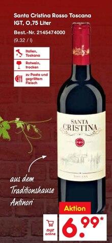 Alkoholische Getraenke von Santa Cristina im aktuellen Netto Marken-Discount Prospekt für 6.99€