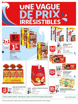 Catalogue Auchan en cours, Une vague de prix irrésistibles !, Page 2