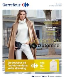 Catalogue Carrefour en cours, Collection Tex Automne, Page 1