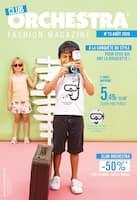 Catalogue Orchestra en cours, Fashion magazine, Page 1