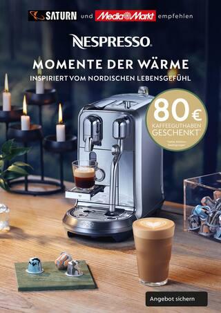 Aktueller Nespresso Prospekt, Momente der Wärme, Seite 2