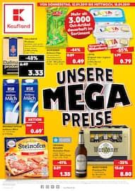 Aktueller Kaufland Prospekt, UNSERE MEGA PREISE, Seite 1