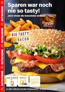 Der aktuelle McDonald's Prospekt SPAREN WAR NOCH NIE SO TASTY!