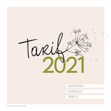 "Yves Rocher Catalogue ""Tarif 2021"", 24 pages, Saint-Brice-sous-Forêt,  31/12/2020 - 31/12/2021"